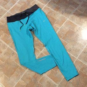 Nike Dri Fit athletic running compression leggings